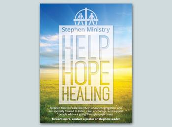 Stephen Ministry Help Hope Healing
