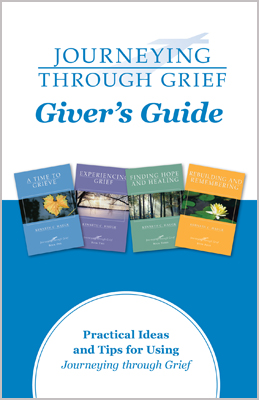 Journeying through grief a helpful handbook for those who are giving the journeying through grief books to others the givers guide provides fandeluxe PDF